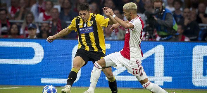 Έχασε η ΑΕΚ στην Ολλανδία. Όλα τα αποτελέσματα του champions League