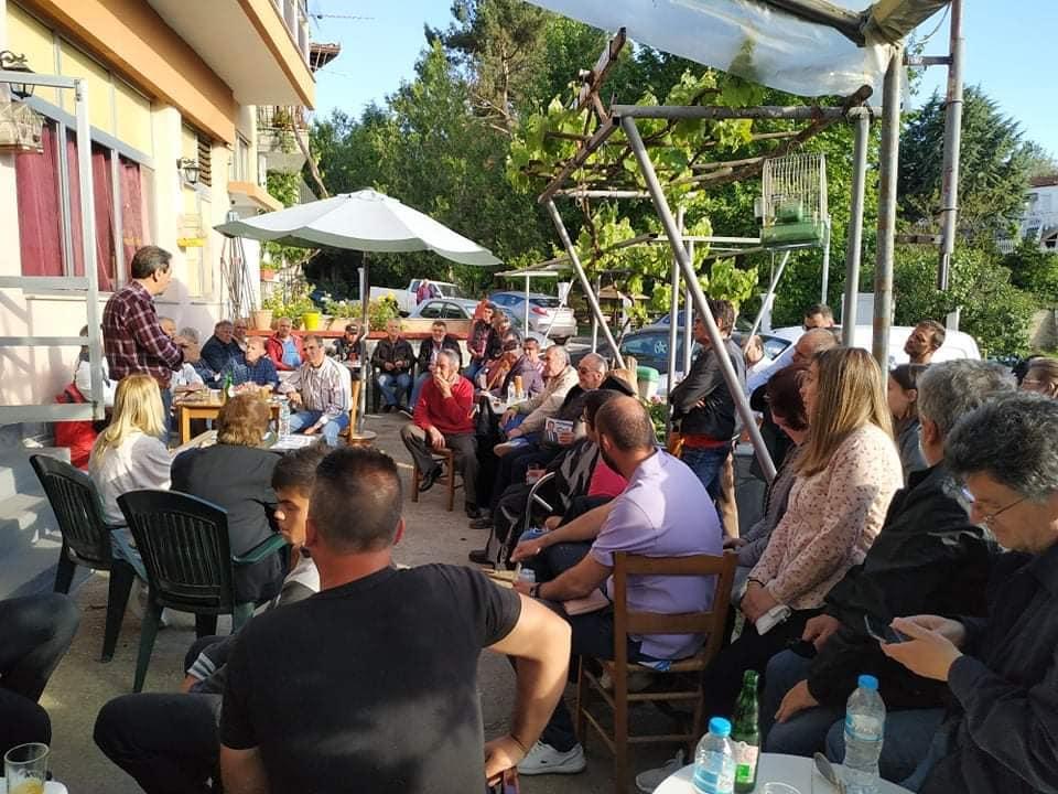 Δημήτρης Κοσμίδης: Πολιτικές ομιλίες σε Καλονέρι και Μικρόκαστρο