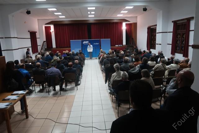 Καστοριά: Η ομιλία στο Άργος Ορεστικό του Θόδωρου Καρυπίδη για τα Έργα του…και η στιγμή της αναγνώρισης ενός από αυτά.