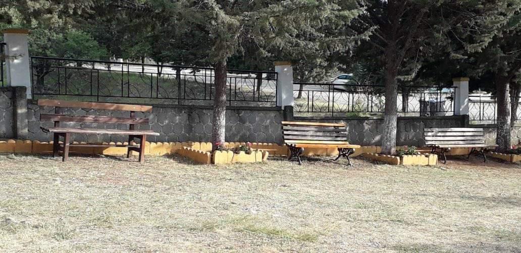 Ζημιές στον Άγιο Νεκτάριο.  Αποκατάσταση από την εθελοντική δράση πολιτών Σιάτιστας
