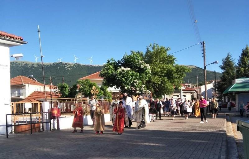 Η Εικόνα Της Παναγίας Μικροκάστρου στη Γαλατινή
